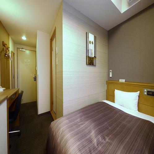 ■シングルルームAタイプ■ スタンダードに比べ少しコンパクトなお部屋。お得にご宿泊頂けます