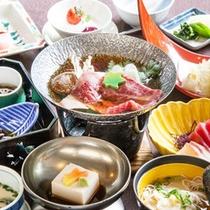 【昼食付日帰り温泉 浜千鳥】(お料理一例)