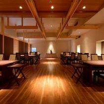 ゆったりとした空間でお食事が楽しめる『御食事処・思いのまま』テーブル席
