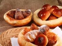 ホテル内パン屋「フィストラ」のパン