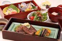 日本料理「小岱」和風ステーキ御膳