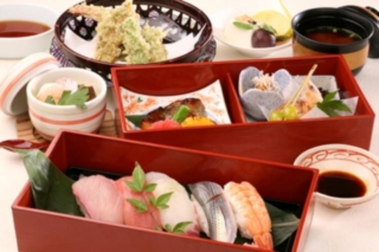 日本料理「小岱」お寿司と天麩羅御膳