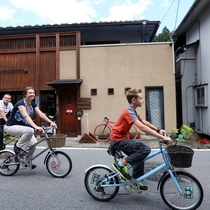 【無料のレンタル自転車】