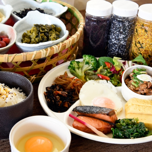地産地消のオススメ朝食
