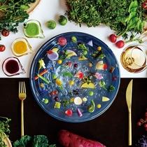 「OTTO SETTE」野菜とワインのマリアージュコース料理「Vino e Verdura」