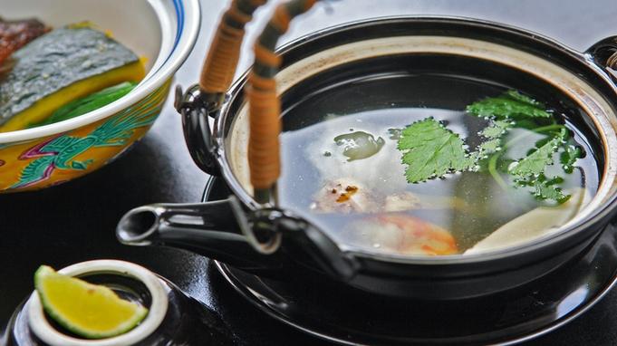 秋の一押し◆お部屋食×松茸土瓶蒸し付会席◆プライベート重視派にお勧め貸切内風呂無料♪