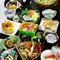 【秋】グレードアップ料理一例