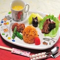 【別注】お子様ランチ3240円〜。ご要望により和食のご用意可能です。お問合せください。