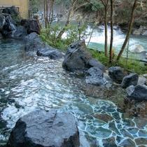 【大浴場露天風呂】