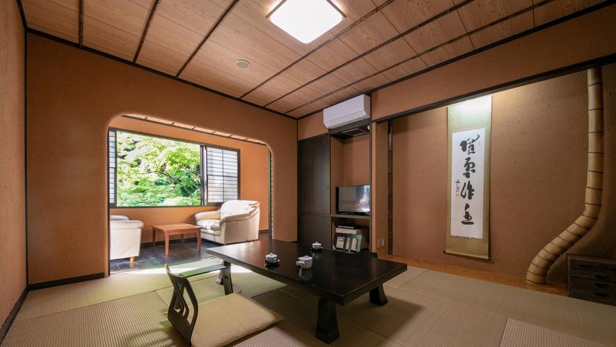 露天風呂付客室(竹や舞の間4)