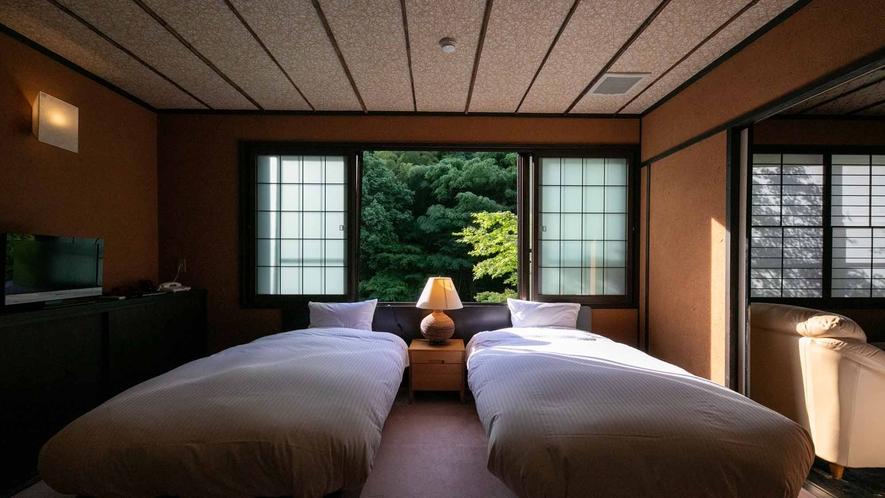 露天風呂付客室(竹や舞の間1)