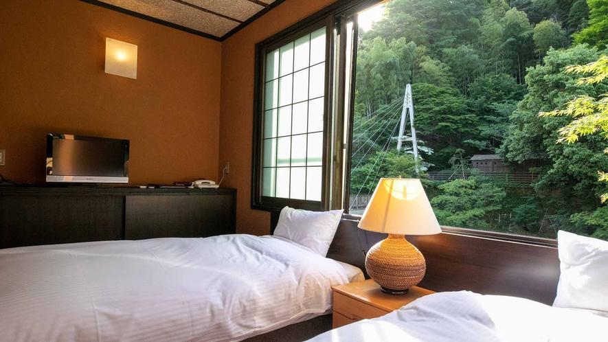 露天風呂付客室(竹や舞の間2)
