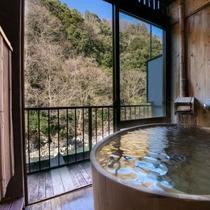 露天風呂付特別室【8畳+4.5畳 山葵の間】