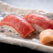 【グレードUP会席】大間産本鮪のあぶり寿司