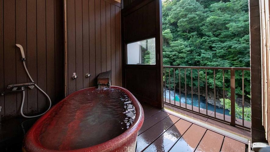 露天風呂付き客室(観月の間3)