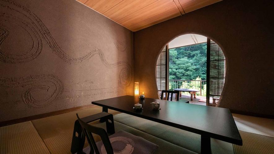 露天風呂付き客室(山さびの間1)