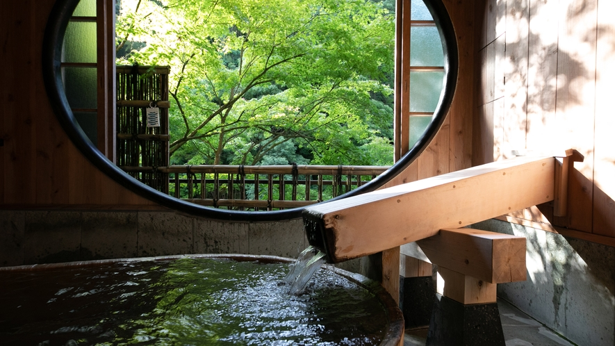 露天風呂付客室(竹や舞の間7)