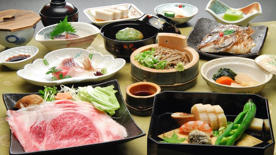 【春】夕食一例
