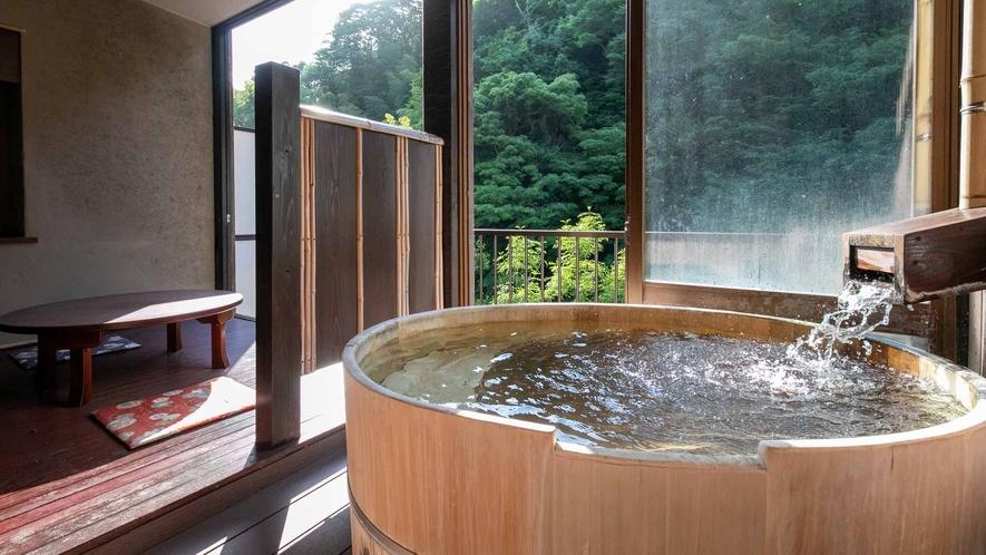 露天風呂付き客室(山さびの間3)