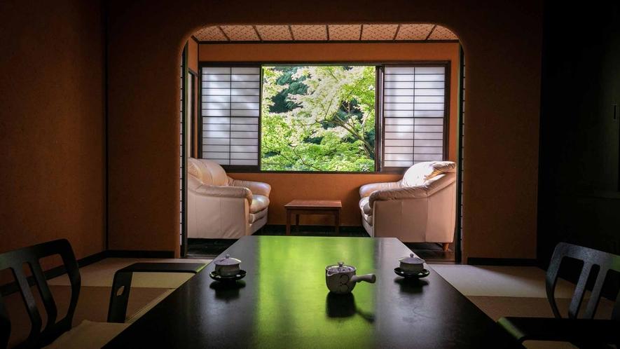 露天風呂付客室(竹や舞の間5)