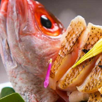 ◆のどぐろ&舟盛会席◆巷で噂の高級魚『のどぐろ』あぶり&豪華舟盛♪北陸の美味を味わう爛漫会席♪