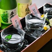 ■地酒飲み比べ■