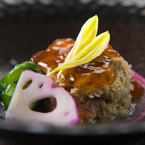 ■加能蟹の蟹味噌ジュレ■