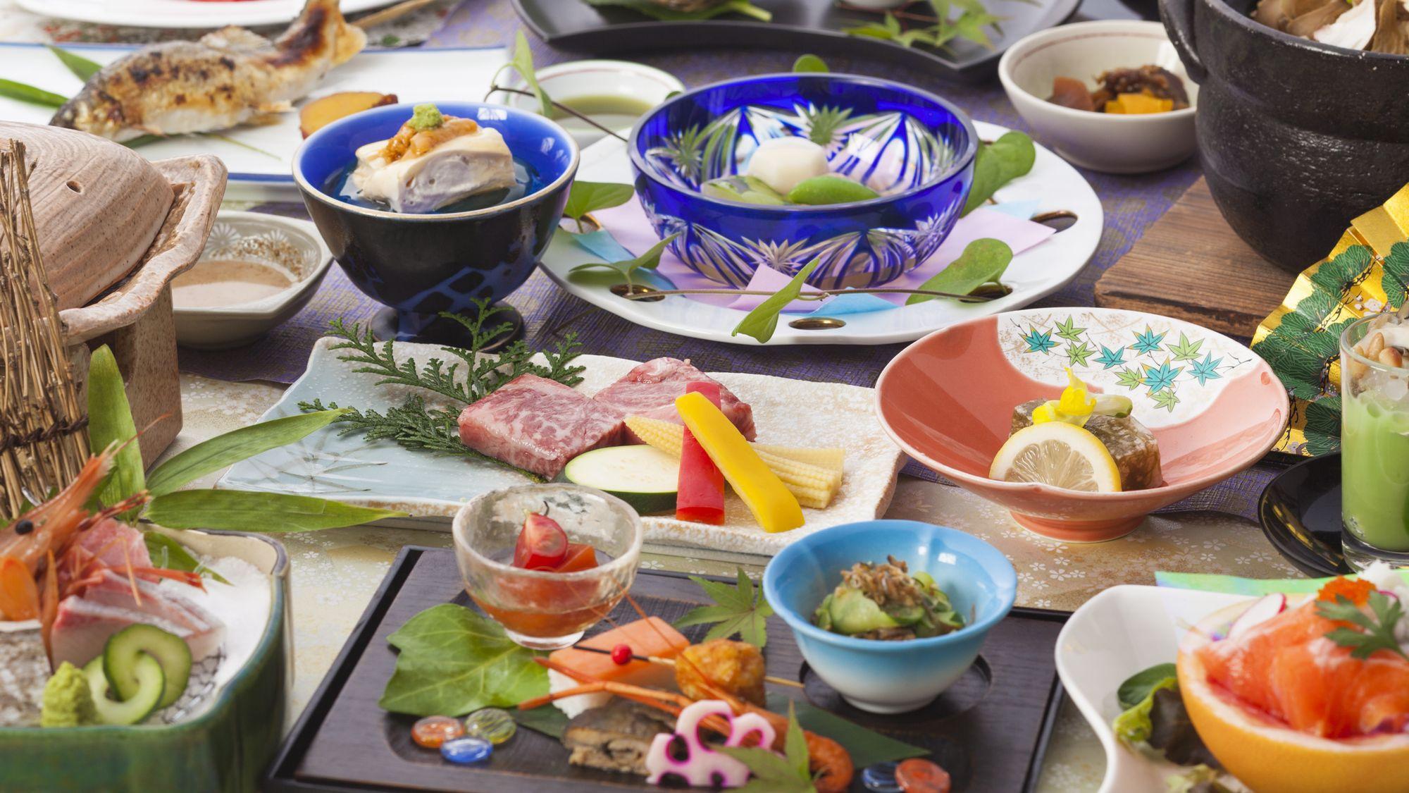 夏 和食膳一例