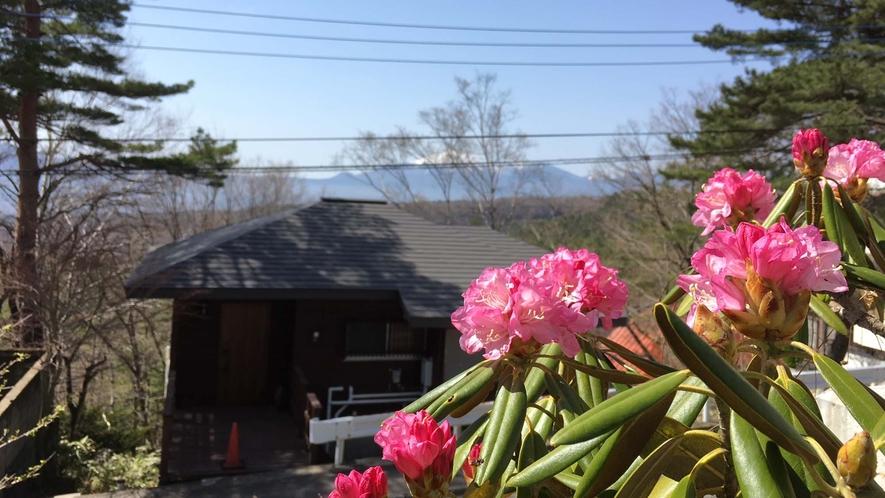 ・【眺望】高台に位置するため、どのお部屋からも山々が望むことができます