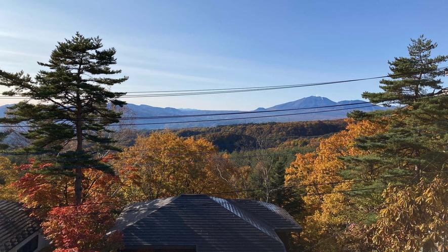 ・【眺望】四季折々の景色を楽しめるの山々は絶景