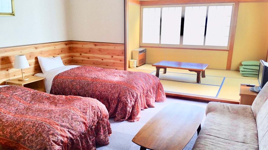 ・【和洋室一例】和室と洋室のいいとこどりのお部屋です