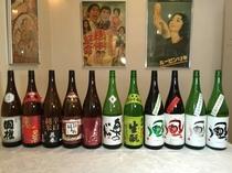 日本酒王国、福島の銘酒を揃えました。