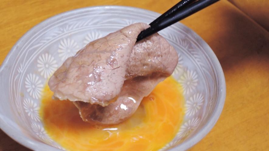 *【ご夕食一例】独特な風味とコクを併せ持った雫石牛は絶品です!