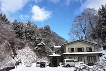 雪景色小滝鉱泉