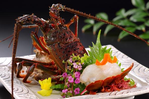 ☆お魚大好き。o○♪♪ ☆本物の房州海老・あわび・お刺身だけの☆豪華な少食☆