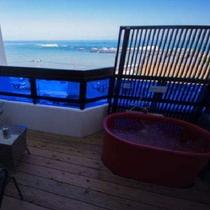 新岬感の和室【茜音akane】小さな露天風呂ですが、海と空を一人占めにして・・☆