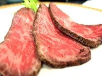 黒毛和牛の自家製ローストビーフ☆口に含むと旨みがじわじわ~っと・・☆