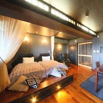 【新渚感☆輝 kira】7つ目の新渚感☆ハイセンスなハリウッドツインの露天風呂付き特別室☆