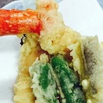カニ食いねぇ*:゜☆ カニの天ぷら
