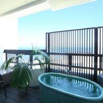 ☆新岬感のテラス&露天風呂 空と海を眺めながら ゆっくりお過ごしください