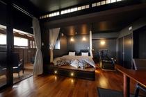 お部屋の一例☆新渚感「輝kira」☆新しい時代のセンスを語るキラキラのハリウッド・ツインルームです☆