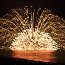 夏の風物詩 熊野花火大会