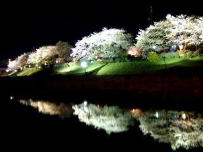 夜の伊勢もまた味わいあります 神宮川辺夜景