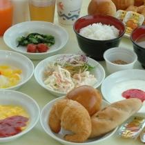 ホテルエコノ多気名物 約20品目の無料朝食