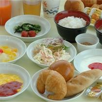 ホテルエコノ名物 無料朝食サービス
