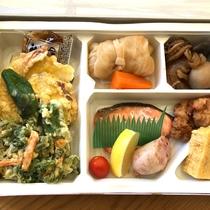 お夕食は茨城県水戸市のお弁当「水戸っこ亭」です