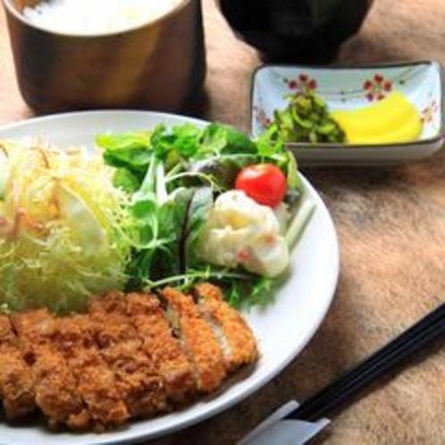 【夕食】とんかつ