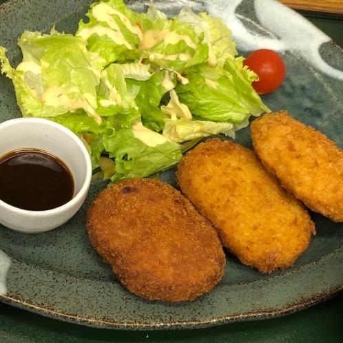 【夕食】三島コロッケ