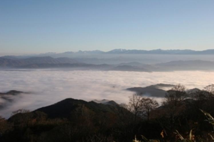 猪伏山の景色