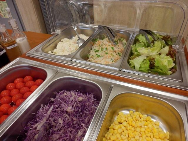 【朝食】からだにうれしー♪ヘルシー♪新鮮野菜の日替わりサラダバー♪